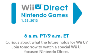 What's does the future hold for the Nintendo Wii U? Find out during tomorrow's Nintendo Direct!