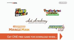 Free Game Nintendo 3DS