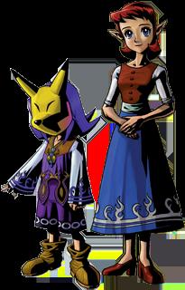 Majora's Mask Anju & Kafei
