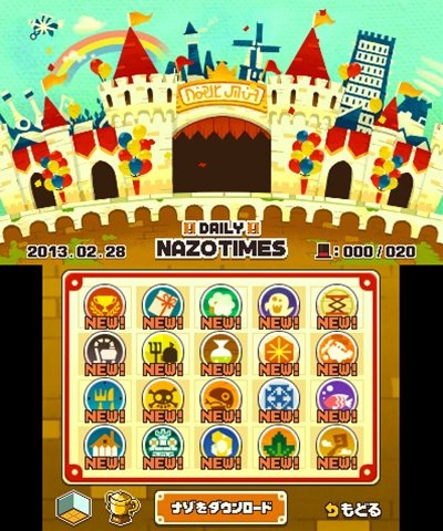 Layton download puzzles menu