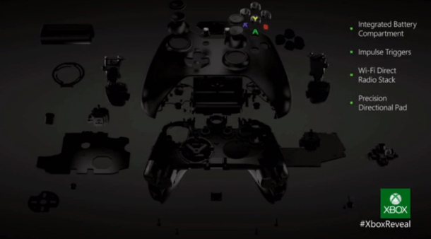 Xbox One Controller breakdown