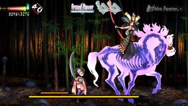 Muramasa Rebirth   Boss Battle