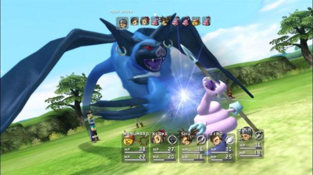 Blue Dragon | Battle Order