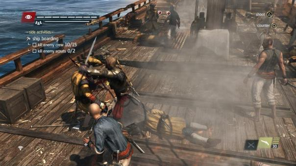 Assassins Creed IV: Black Flag | Boarding a Ship