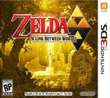 The Legend of Zelda: A Link Between Worlds | Box Art