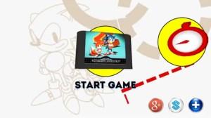 Sonic the Hedgehog 2 - Mobile HUB Menu | oprainfall