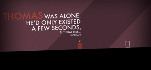 Thomas Was Alone - Feel Important | oprainfall
