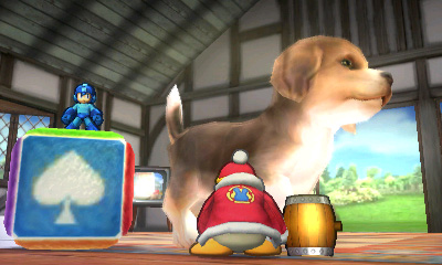 Mega Man vs. King Dedede on Nintendog Stage - Smashing Saturdays | oprainfall