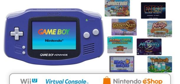 Wii U Virtual Console—Game Boy Advance Launch Lineup