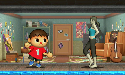 Villager and Wii Fit Trainer - Smashing Saturdays | oprainfall