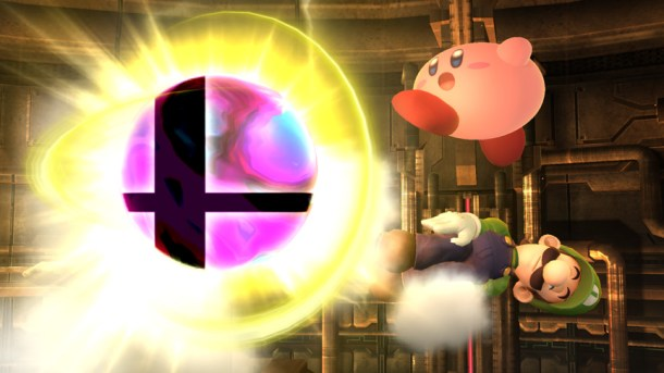 Kirby and Luigi with a Smash Ball - Smashing Saturdays | oprainfall