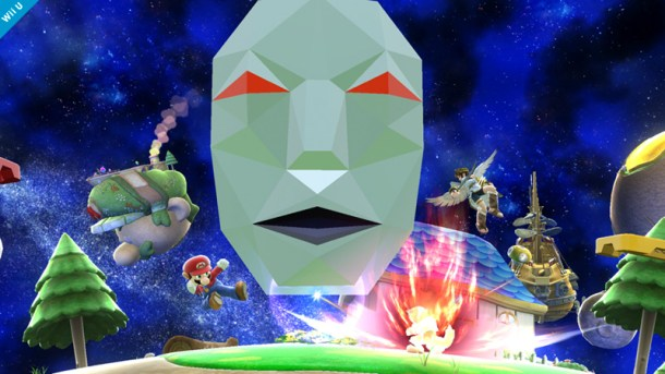 Andross in Super Mario Galaxy Stage - Smashing Saturdays | oprainfall