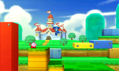 Kirby and Mega Man in Super Mario 3D Land - Smashing Saturdays | oprainfall