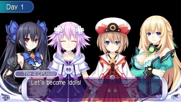 Hyperdimension Neptunia PP | CPU