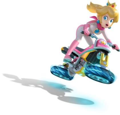Mario Kart 8 - Princess Peach | oprainfall