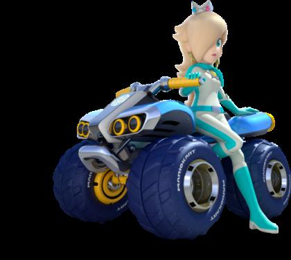 Mario Kart 8 - Rosalina | oprainfall