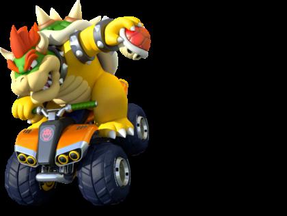 Mario Kart 8 - Bowser | oprainfall