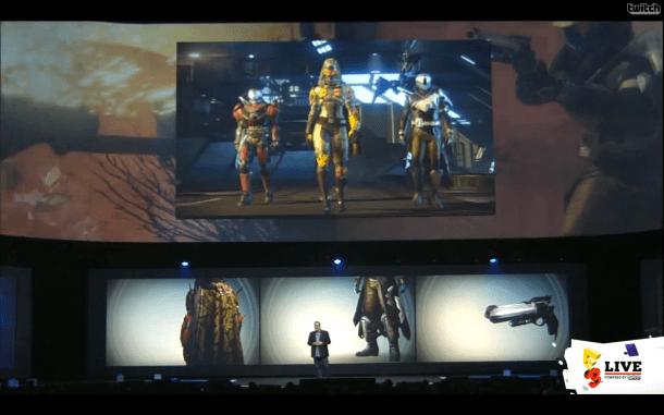 E3 2014 Sony Conference - Destiny