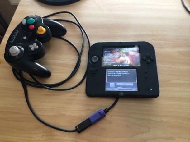 GameCube Controller Adapter Mod for 2DS | oprainfall