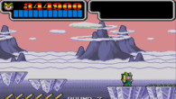 And ice level theme... that also plays in a desert.