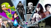 It's Day 2 of the oprainfall Gaming Awards. Time to decide who had the best aesthetics.