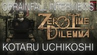 The writer and director of the Zero Escape series talked to us about the third and final installment of the franchise and hinted at some other goodies.