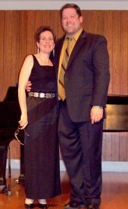 Andy Stuckey and his accompanist Allison Brewster Franzetti were ideally matched--both gifted professionals.