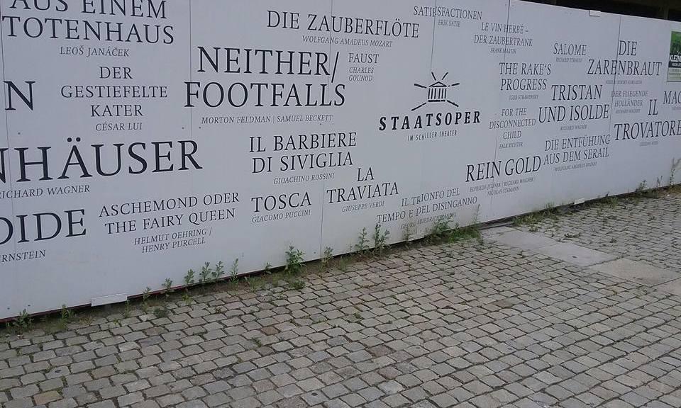Detlef Obens / Staatsoper Berlin /Baustelle