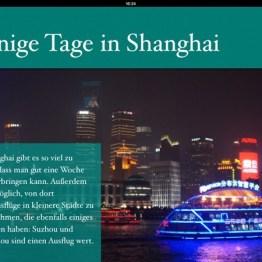 Screenshot eBook China: Shanghai