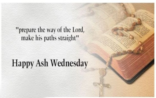 Ash Wednesday Friday Pics