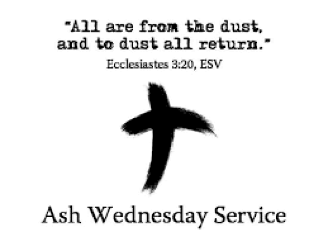 Ash Wednesday Holy Spirit Pictures