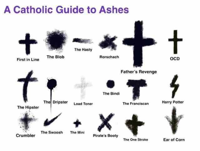 Ash Wednesday Pics 2018