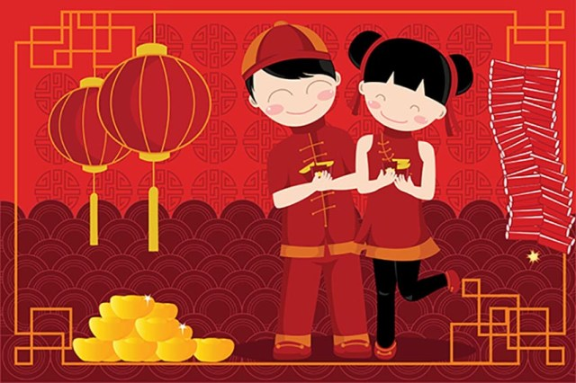Happy Chinese New Year 2018 Image