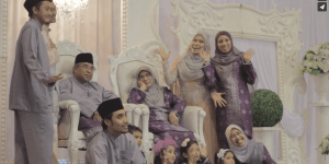 Amni Nazmin & Dr. Wan Adli : The Reception