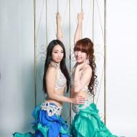 岡山ベリーダンスONLINE SHOP「Naju-le」様の衣装撮影♩