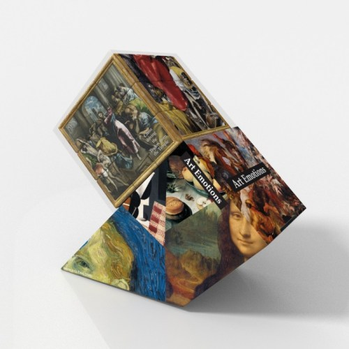 V-CUBE 3 Flat - El Greco - In Packaging