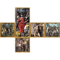 V-CUBE 3 Flat - El Greco Print