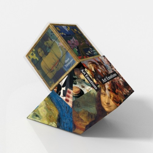 V-CUBE 3 Flat - Gauguin - In Packaging