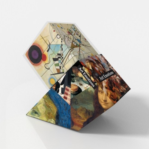 V-CUBE 3 Flat - Kandinsky - In Packaging