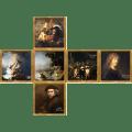 V-CUBE 3 Flat - Rembrandt Print
