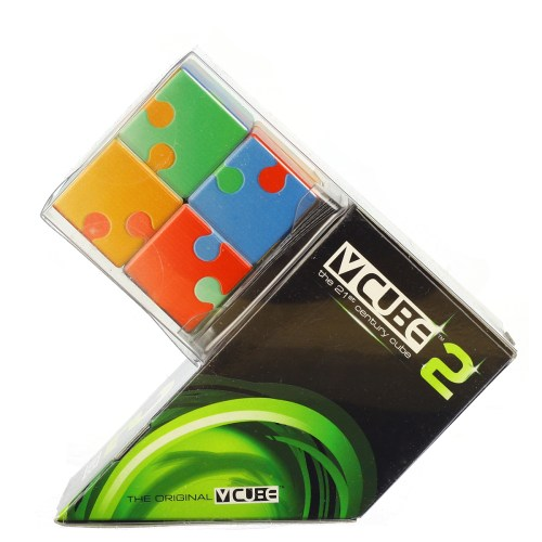 V-CUBE 2 Flat - Jigsaw - In Packaging