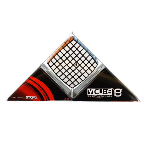 V-CUBE 8 Black - In Packaging