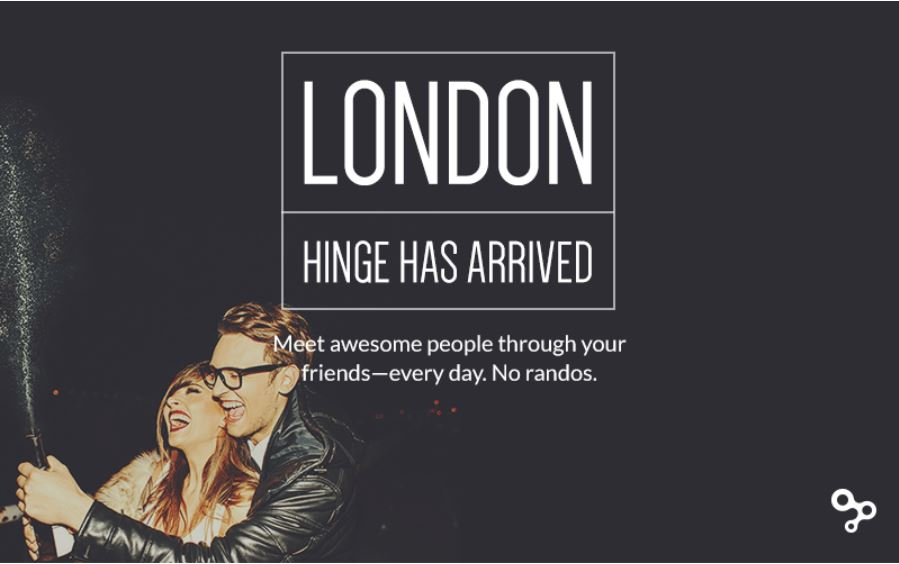 hinge dating app london Continued the post the 30 most eligible men and women in every major industry hinge, a popular dating app that introduces current hinge city: london.