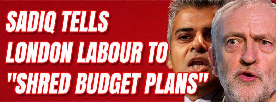 sadiq+corbyn+shred+budget