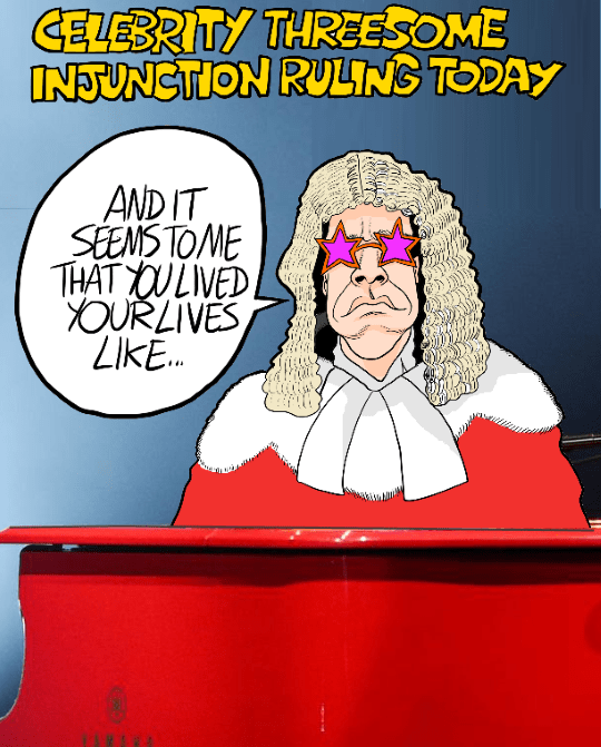 injunction+judge