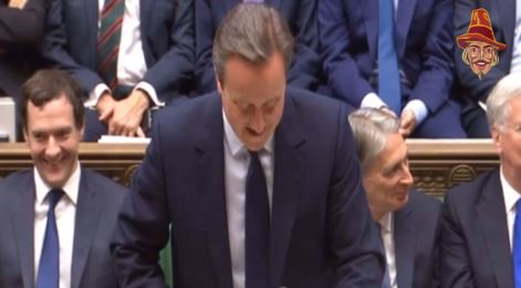 "CAMERON ON LABOUR: ""AND I THOUGHT I WAS HAVING A BAD DAY"""