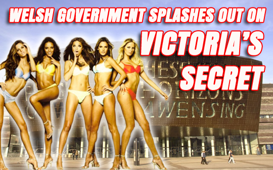 VICTORIA'S SECRET LINGERIE AND 5 STAR HOTELS: WELSH GOVT'S £7.5 MILLION CREDIT CARD SPEND