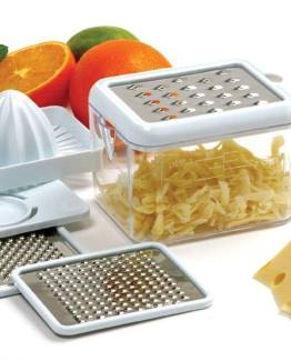 Multi Grater with Juicer and Egg Separation