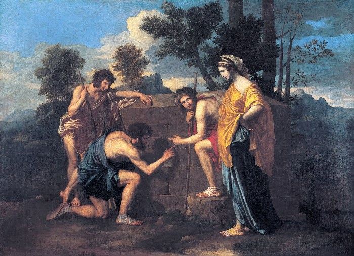 Et in Arcadia Ego by NIcolas Poussin