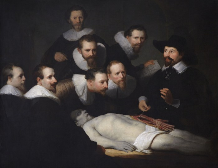 The Anatomy Lesson of Dr. Nicholaes Tulp by Rembrandt van Rijn